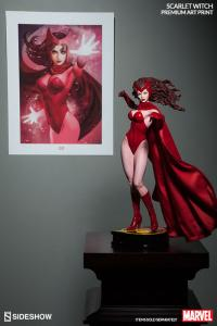 Gallery Image of Scarlet Witch Art Print