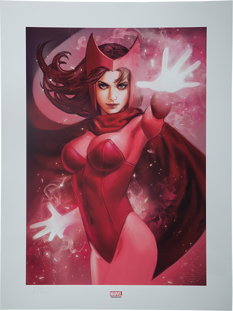 Sideshow Collectibles Scarlet Witch Art Print
