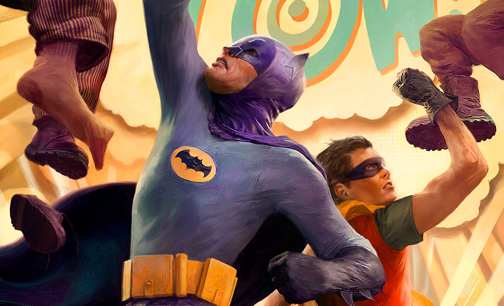 Gallery Feature Image of Batman Robin The Dynamic Duo Art Print - Click to open image gallery