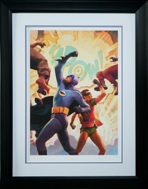 Batman Robin The Dynamic Duo Art Print