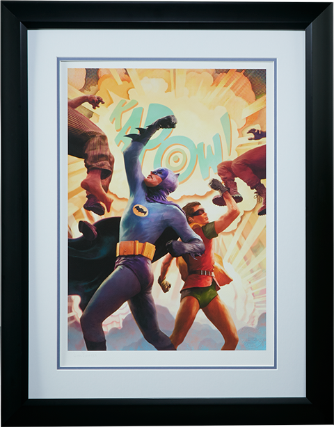 Sideshow Collectibles Batman Robin The Dynamic Duo Art Print