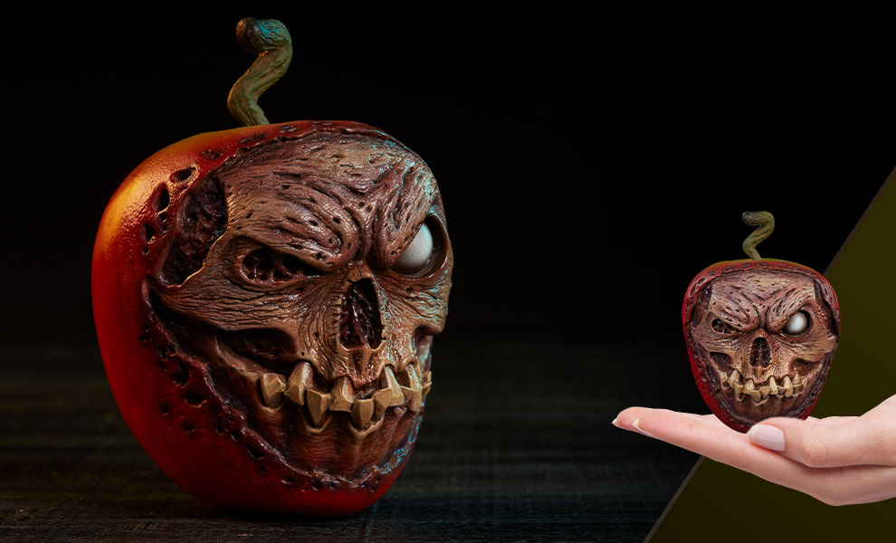 Gallery Feature Image of Court of the Dead Skull Apple (Rotten Version) Prop Replica - Click to open image gallery