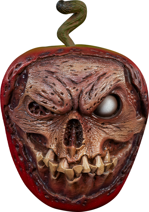 Sideshow Collectibles Court of the Dead Skull Apple (Rotten Version) Prop Replica