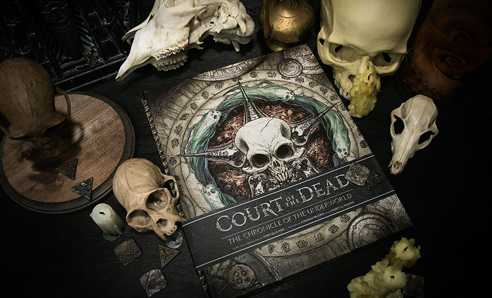 Gallery Feature Image of Court of the Dead The Chronicle of the Underworld Book - Click to open image gallery
