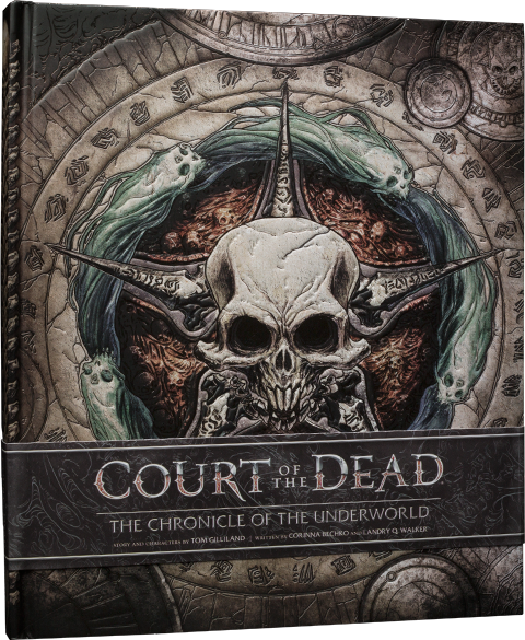 Sideshow Collectibles Court of the Dead The Chronicle of the Underworld Book