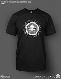 Gallery Image of Rise Conquer Rule T-Shirt Apparel