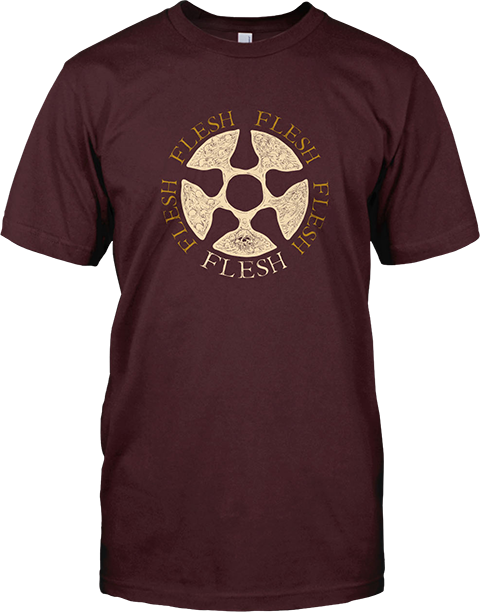 Sideshow Collectibles Flesh Logo T-Shirt Apparel