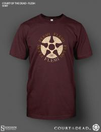 Gallery Image of Flesh Logo T-Shirt Apparel