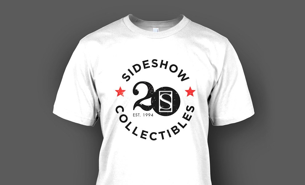 Gallery Feature Image of Sideshow Collectibles 20th T-Shirt Apparel - Click to open image gallery