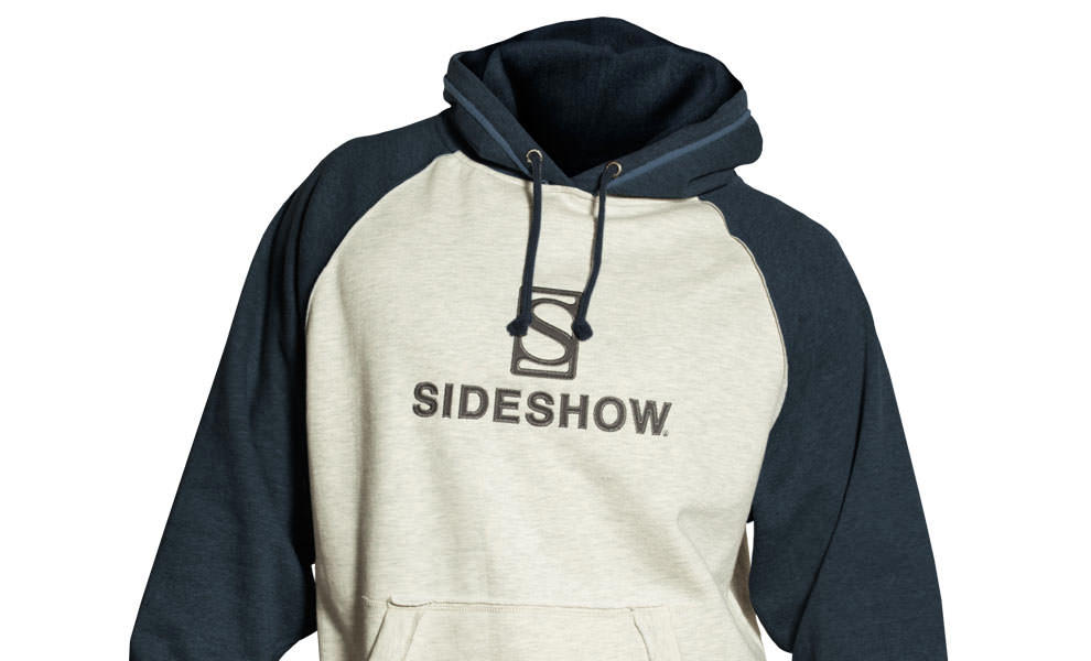 Gallery Feature Image of Sideshow Pullover Hoodie - Navy Apparel - Click to open image gallery