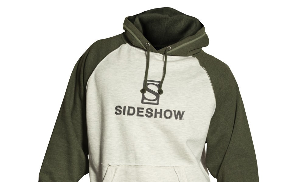 Gallery Feature Image of Sideshow Pullover Hoodie - Green Apparel - Click to open image gallery