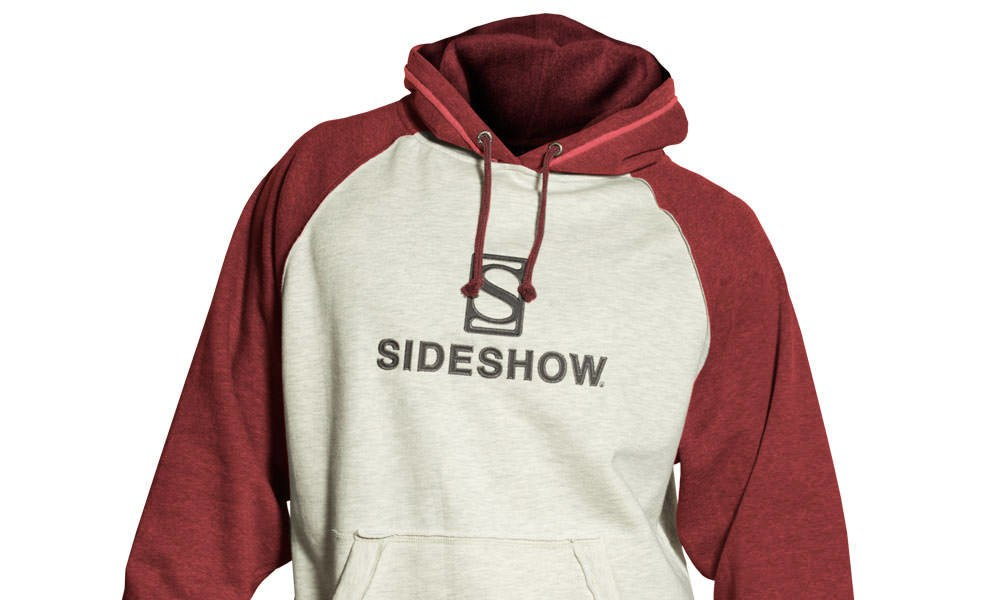 Gallery Feature Image of Sideshow Pullover Hoodie - Red Apparel - Click to open image gallery