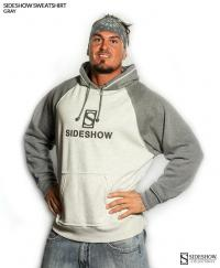 Gallery Image of Sideshow Pullover Hoodie - Gray Apparel