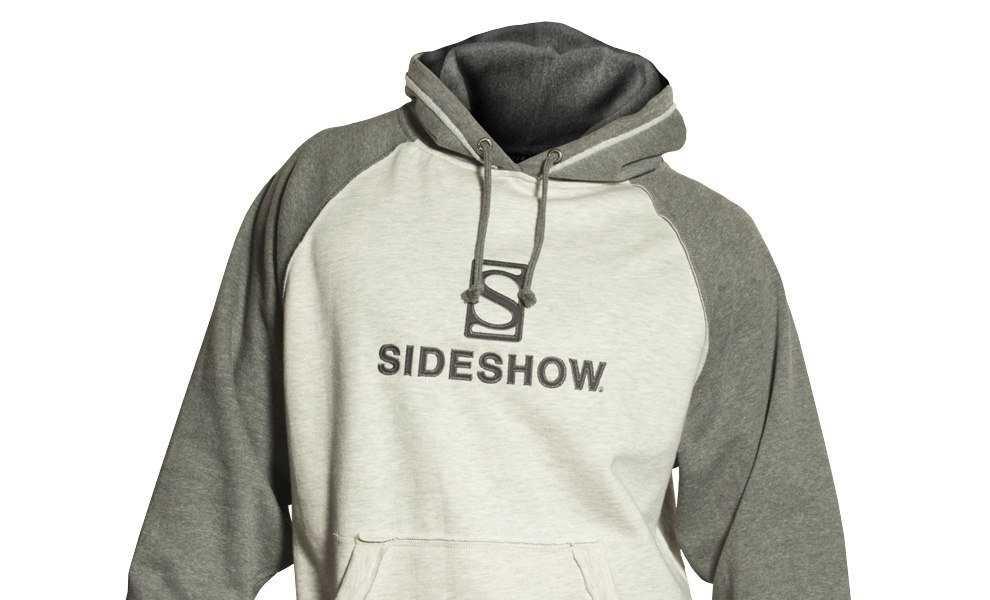 Gallery Feature Image of Sideshow Pullover Hoodie - Gray Apparel - Click to open image gallery