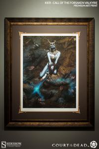 Gallery Image of Kier: Call of the Forsaken Valkyrie Art Print