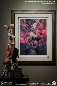Gallery Image of Gethsemoni, The Queen of the Dead Art Print