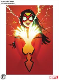 Gallery Image of Spider-Woman Art Print