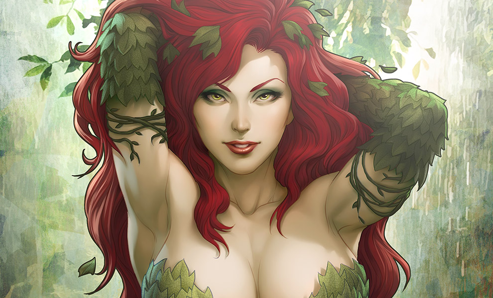 Gallery Feature Image of Gotham Sirens Poison Ivy Variant Art Print - Click to open image gallery