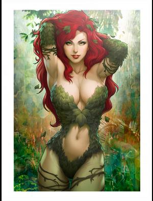 Gotham Sirens Poison Ivy Variant Art Print