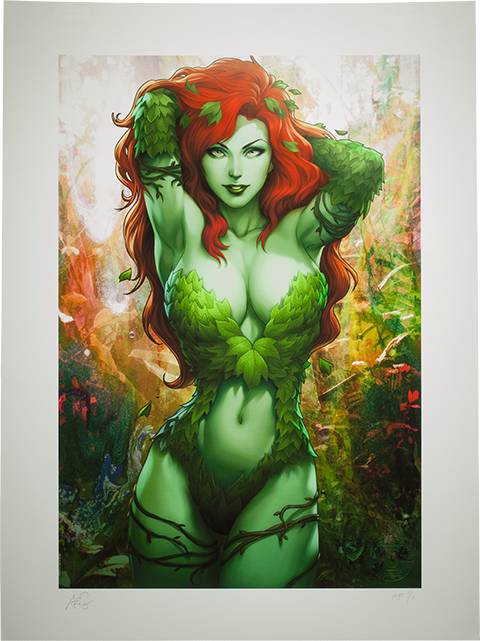Sideshow Collectibles Gotham Sirens: Poison Ivy Art Print