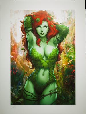 Gotham Sirens: Poison Ivy Art Print