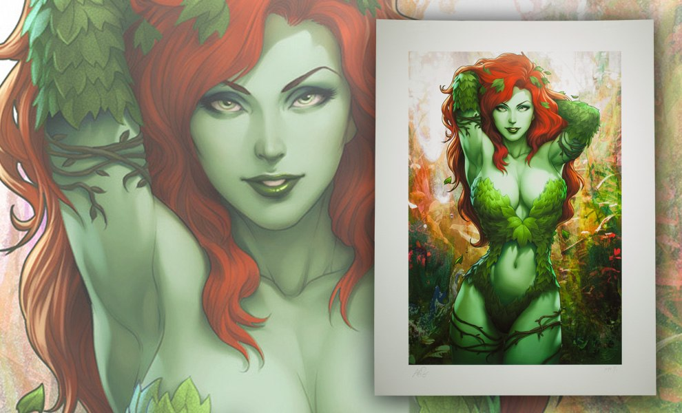 Gallery Feature Image of Gotham Sirens: Poison Ivy Art Print - Click to open image gallery