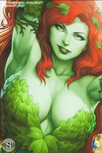 Gallery Image of Gotham Sirens: Poison Ivy Art Print