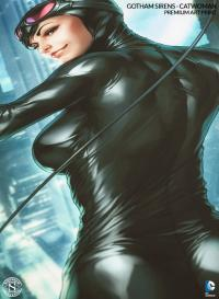 Gallery Image of Gotham Sirens: Catwoman Art Print