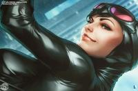 Gallery Image of Gotham Sirens: Catwoman Art Print