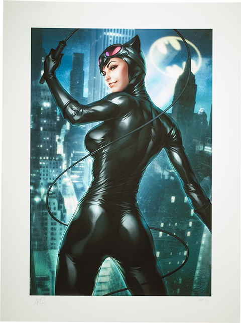 Sideshow Collectibles Gotham Sirens: Catwoman Art Print