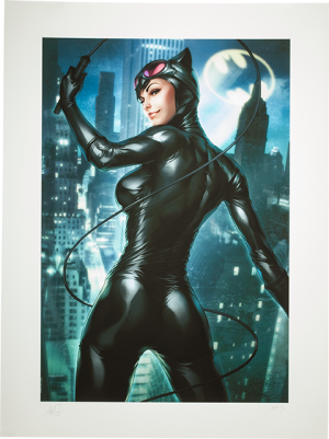 Gotham Sirens: Catwoman Art Print