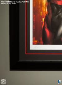 Gallery Image of Gotham Sirens: Harley Quinn Art Print