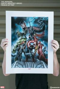 Gallery Image of The Avengers Earths Mightiest Heroes Art Print
