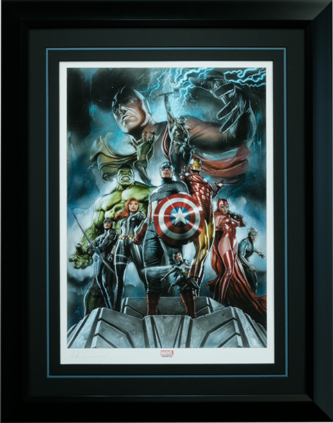 Sideshow Collectibles The Avengers Earths Mightiest Heroes Art Print