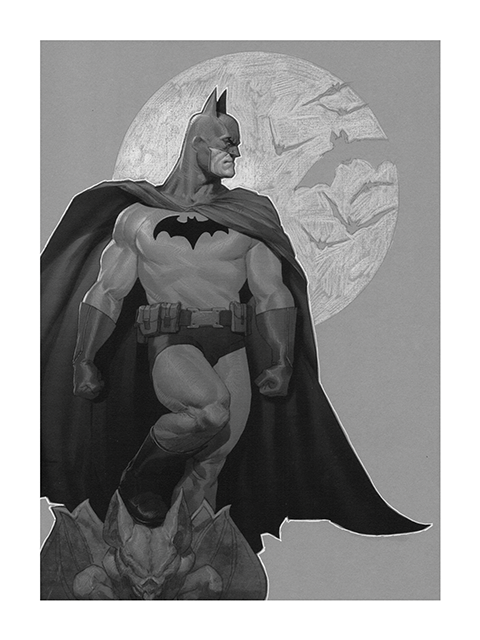 Sideshow Collectibles Batman, Sentinel of Gotham Art Print