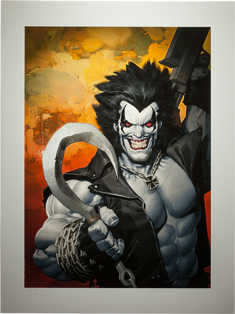 Sideshow Collectibles Lobo Art Print