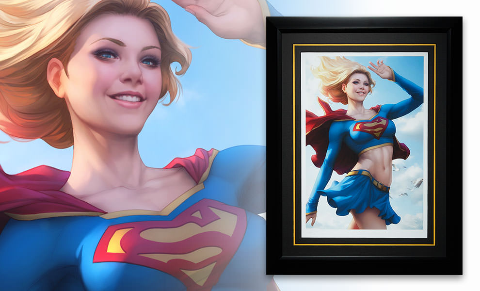 Gallery Feature Image of Supergirl Art Print - Click to open image gallery
