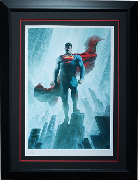 Sideshow Collectibles Superman - Justice League Trinity Art Print