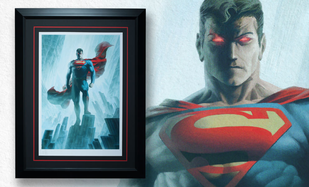 Gallery Feature Image of Superman - Justice League Trinity Art Print - Click to open image gallery