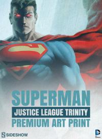 Gallery Image of Superman - Justice League Trinity Art Print