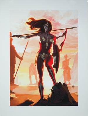 Wonder Woman - Justice League Trinity Art Print
