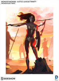 Gallery Image of Wonder Woman - Justice League Trinity Art Print
