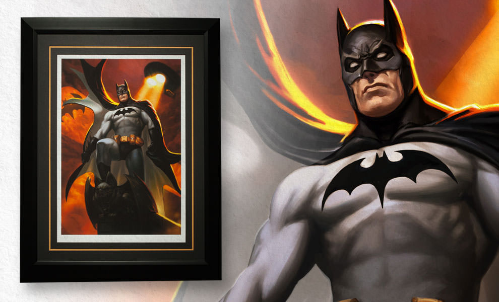 Gallery Feature Image of Batman - Justice League Trinity Art Print - Click to open image gallery