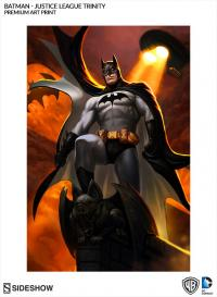 Gallery Image of Batman - Justice League Trinity Art Print