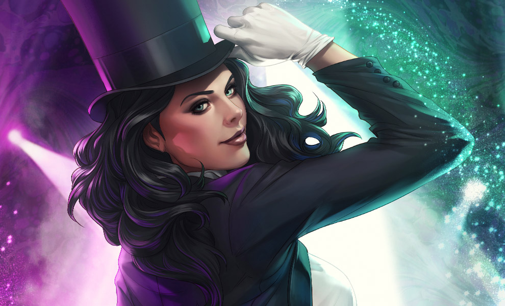 Gallery Feature Image of Zatanna Art Print - Click to open image gallery