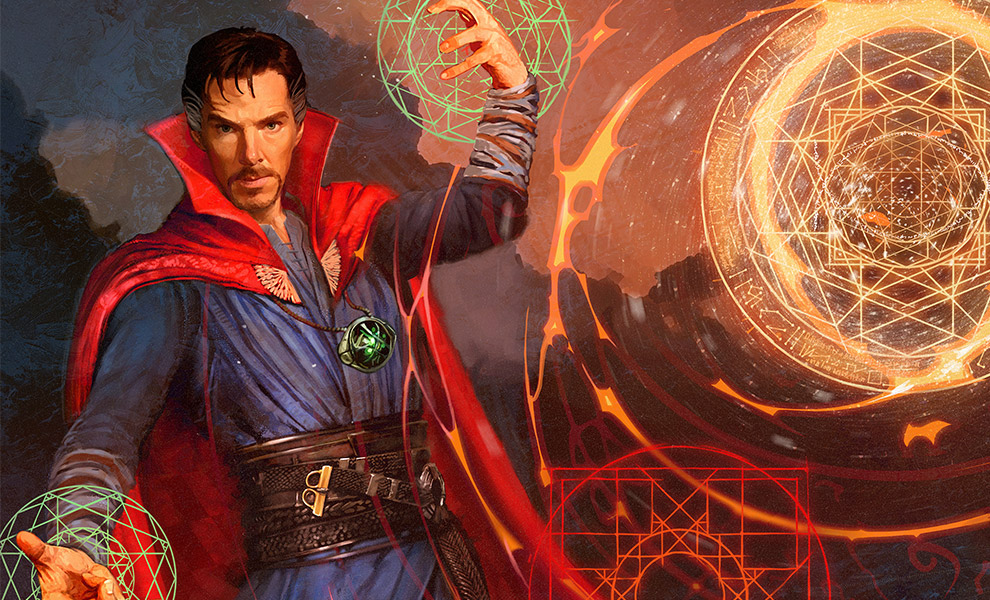 Gallery Feature Image of Doctor Strange Art Print - Click to open image gallery