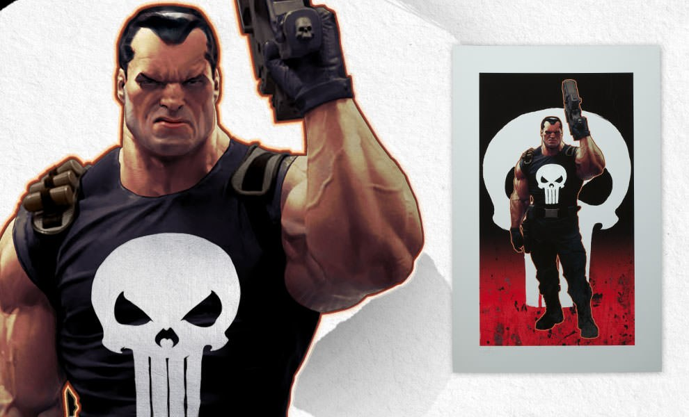 Gallery Feature Image of Punisher Brutal Justice Art Print - Click to open image gallery