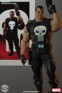 Gallery Image of Punisher Brutal Justice Art Print