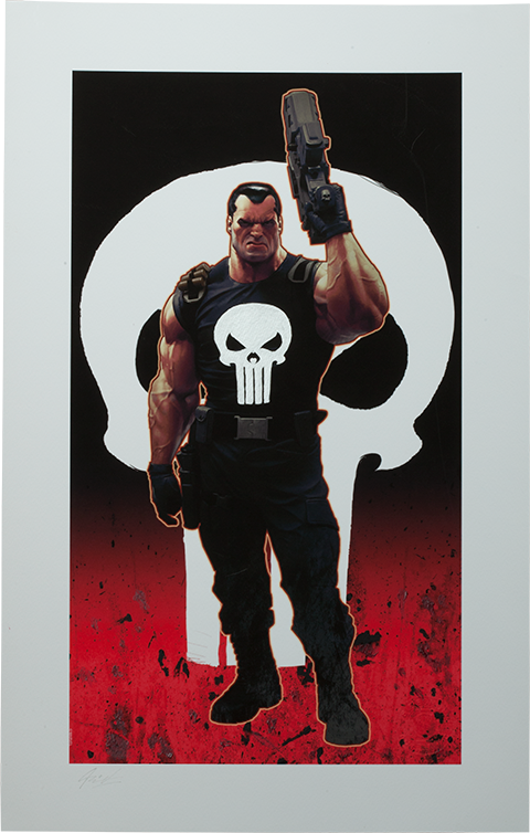 Sideshow Collectibles Punisher Brutal Justice Art Print