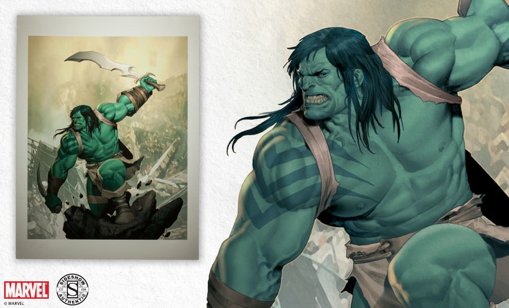 Gallery Feature Image of Skaar Son of Hulk Art Print - Click to open image gallery